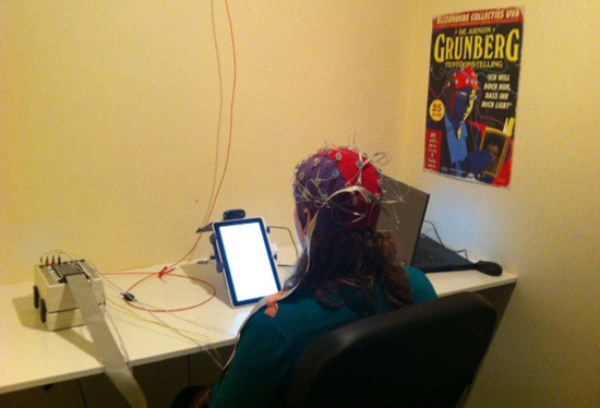 Measure EEG and facial expressions in a lab