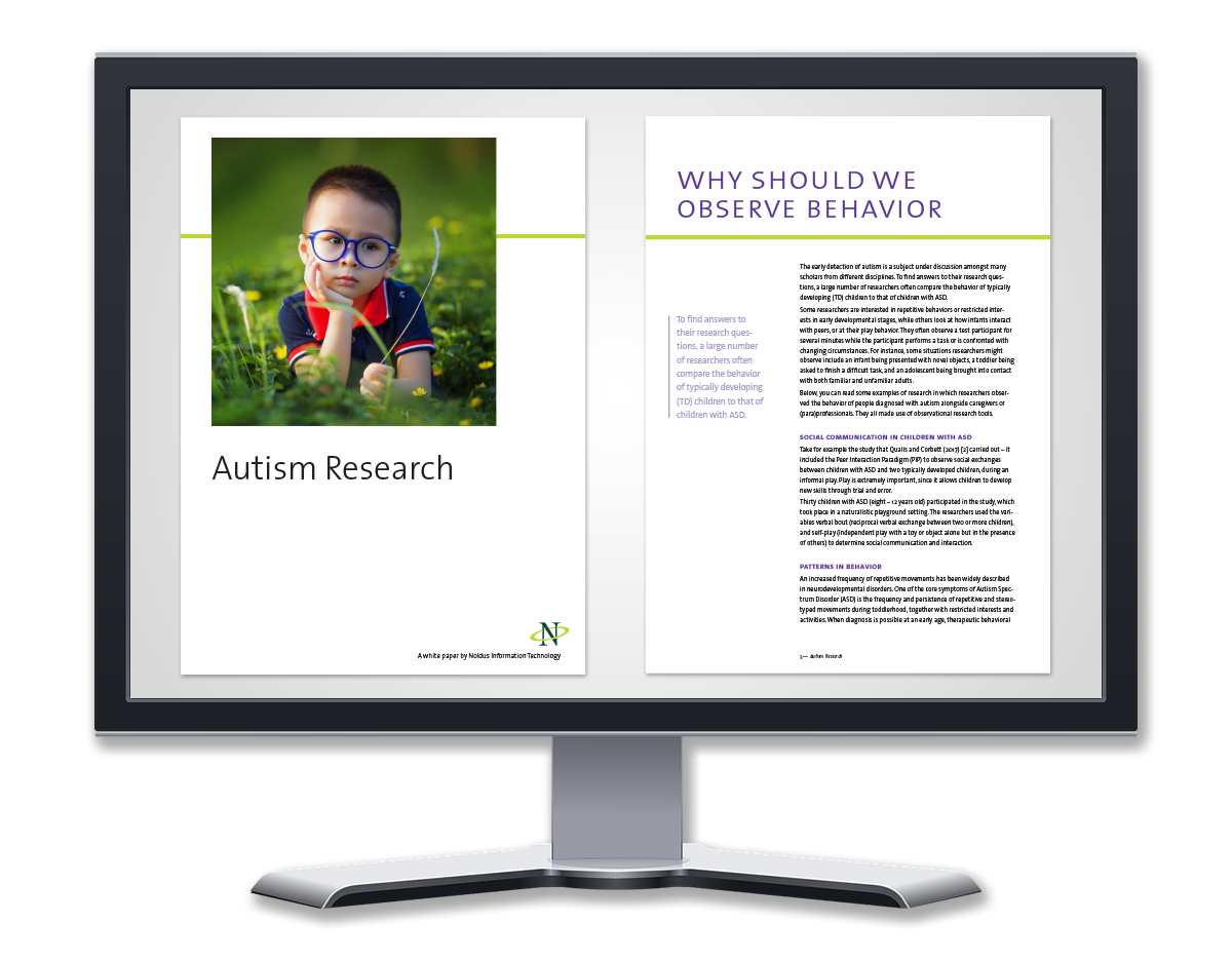 White paper autism research