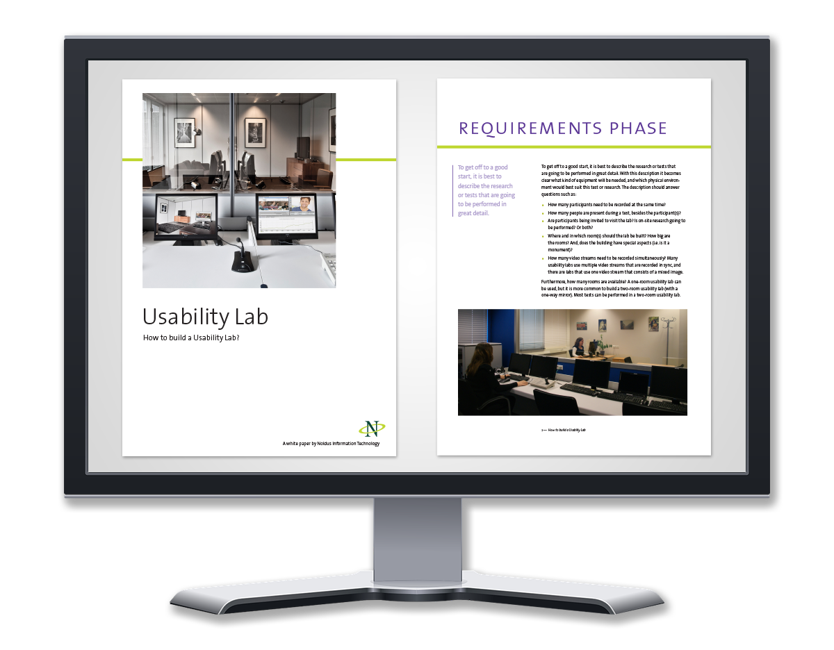 White paper how to build a usability lab